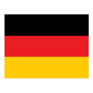Deutsche Flagge Postkarte