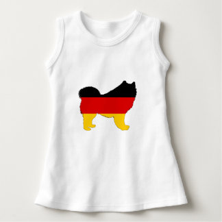 Deutsche Flagge - Samoyed Kleid