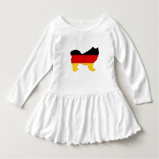 Deutsche Flagge - Samoyed Kleid