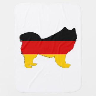 Deutsche Flagge - Samoyed Puckdecke