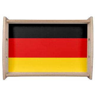 Deutsche Flagge Serviertablett