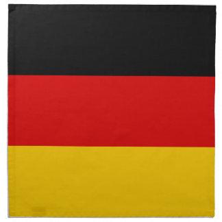 Deutsche Flagge Serviette