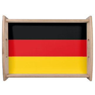 Deutsche Flagge Tablett