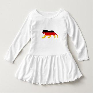 Deutsche Flagge - Tiger Kleid