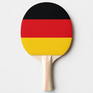 Deutsche Flagge Tischtennis Schläger