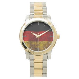 Deutsche Flagge - Vintag Armbanduhr