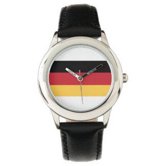 Deutsche Flaggen-Kinderuhr Uhr