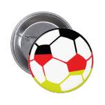 deutsche Fußballikone Anstecknadelbuttons
