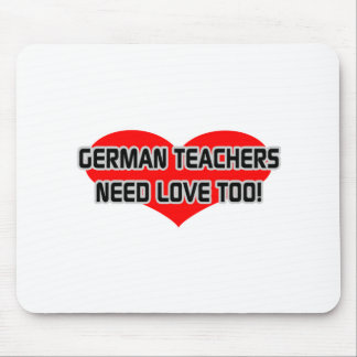 Deutsche Lehrer-Bedarfs-Liebe auch Mauspad