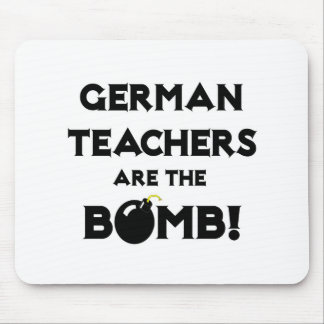 Deutsche Lehrer sind die Bombe Mousepad