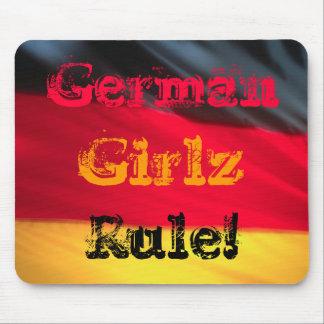 Deutsche Mädchen Girlz Regel! Mauspads