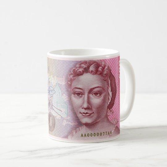 Deutsche Mark Kaffeetasse