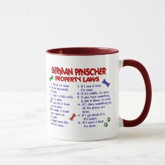 DEUTSCHE PINSCHER Eigentums-Gesetze 2 Tasse