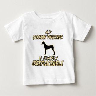 Deutsche Pinscher HUNDEentwürfe Baby T-shirt