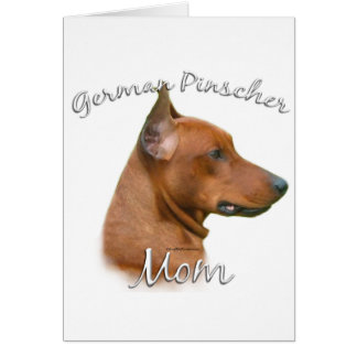 Deutsche Pinscher-Mamma 2 Karte