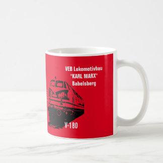 Deutsche Reichsbahn DDR Design Kaffeetasse