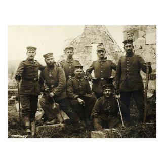Deutsche Soldaten Postkarte