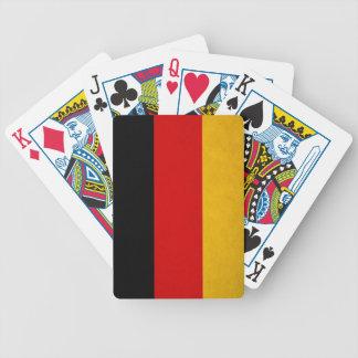 Deutsche Staatsflagge Pokerkarten