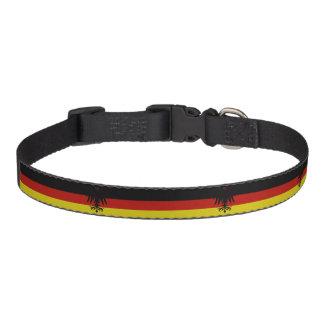 Deutsche Streifenflagge Haustierhalsband