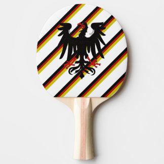 Deutsche Streifenflagge Tischtennis Schläger
