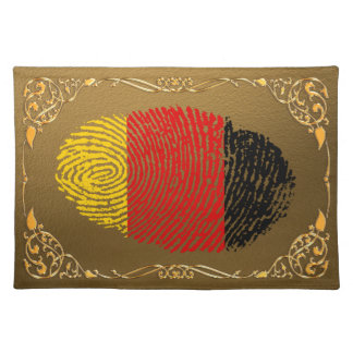 Deutsche Touchfingerabdruckflagge Tischset
