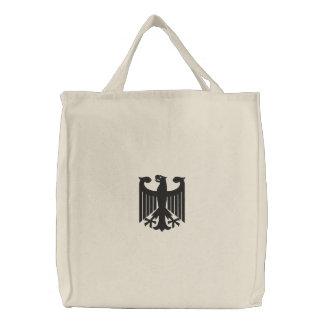 """Deutsche """"Wappen"""" gestickte Tasche"""