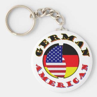 deutscher Amerikaner Schlüsselanhänger