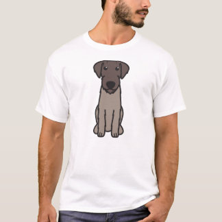 Deutscher Drahthaar-Zeiger-HundeCartoon T-Shirt