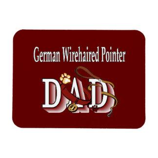 Deutscher Drahthaar-Zeiger-Vati Magnet