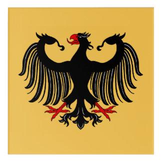 Deutscher Eagle Acryldruck
