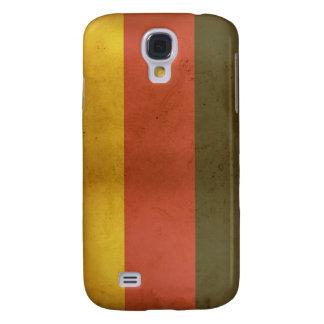 Deutscher Flagge iPhone 3 Speck-Kasten Galaxy S4 Hülle