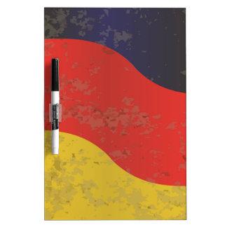 Deutscher Flaggen-Schmutz Memoboard