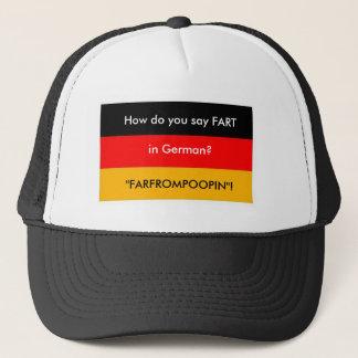 Deutscher Furz-Hut Truckerkappe