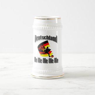 deutscher Fußball Bierkrug