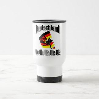 deutscher Fußball Edelstahl Thermotasse