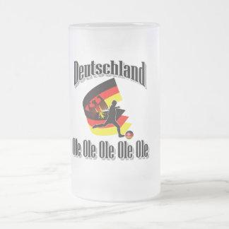 deutscher Fußball Matte Glastasse