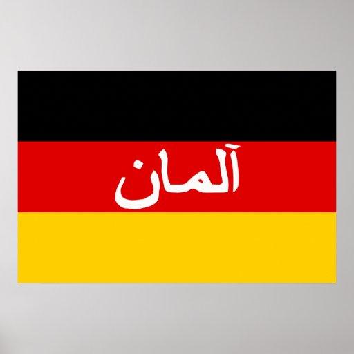Deutscher Isaf Kräfte, Deutschland-Flagge Posterdrucke