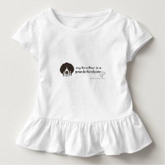 deutscher kurzhaariger Zeiger Kleinkind T-shirt