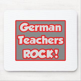 Deutscher Lehrer-Felsen! Mauspad