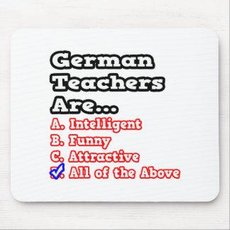 Deutscher Lehrer-Quiz-… Witz Mousepads