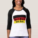 Deutscher Mädchen-Felsen Shirts