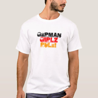 Deutscher, Mädchen, Girlz, Regel! T-Shirt