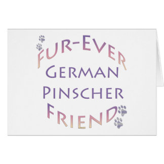 Deutscher Pinscher Furever Karte