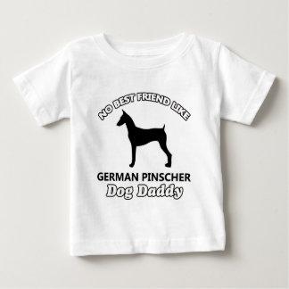 Deutscher Pinscher-Hundevati Baby T-shirt