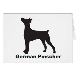 Deutscher Pinscher Karte