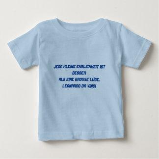 Deutscher Text - da Vinci T-shirt