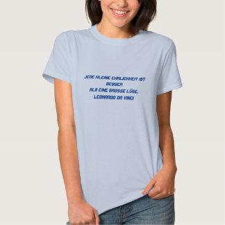 Deutscher Text - da Vinci T-Shirts