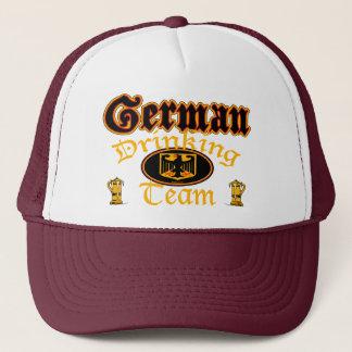 Deutscher trinkender Team-Hut Truckerkappe