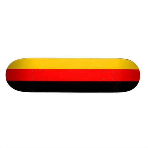 Deutsches Flagge Deutsche Flagge Skateboard Personalisiertes Skateboarddeck
