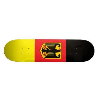 Deutsches Flaggen-Skateboard Personalisierte Skatedecks